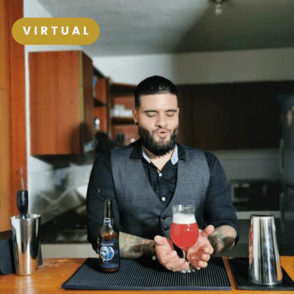Cata de cerveza virtual