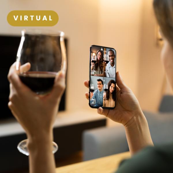 Cata de vino virtual